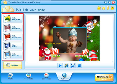 How to make Christmas e-cards?: www.easyflashtools.com/tutorials/how-to-make-christmas-card.html